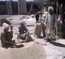 Afghan grain merchants