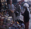 Afghan hat seller