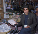 Afghan salt merchant