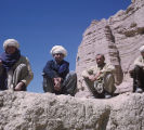 Afghanistan, portrait of Afghan men