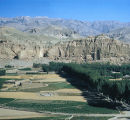 Afghanistan, cliffs of Bamiyan