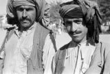 Afghanistan, mustached men wearing turbans in Kābul