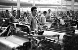 Afghanistan, factory workers at cotton mill in Pol-e Khomri
