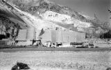Afghanistan, fortification at base of Hindu Kush mountains