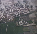 Afghanistan, aerial view of Mazar-e Sharif