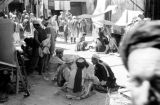Afghanistan, view of people at Kābul market