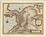 Panama and northern South America 1631