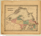 Upper Peninsula Michigan 1855
