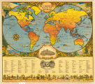 World map 1928