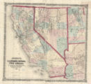 California, Nevada, Utah, Arizona 1873