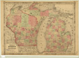 Wisconsin and Michigan 1864