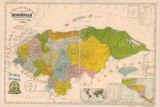 Mapa general de la República de Honduras / levantado por el Prof. Jesús Aguilar Paz