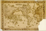 World map 1864