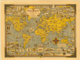 World map 1939