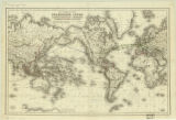 World map 1855