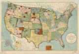 United States Indian Reservations 1901