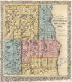Milwaukee, Waukesha, Racine, Kenosha, Walworth Counties (Wisconsin) 1855