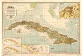 Cuba nuevo mapa relieve, general y de comunicaiones ... 1926 / por el Prof. C.F. Byland-Fritschy ... editado por la Libraría