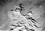 Peru, aerial view of mountainous landscape