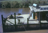 Argentina, floating dock on Parana River