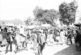 Colombia, view of crowded Ríonegro outdoor market