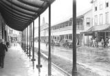 Guyana, Water Street on rainy day in Georgetown