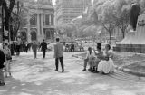 Brazil, people at park in Rio de Janeiro