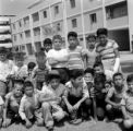 Peru, group of boys in Lima