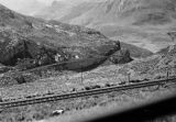 Peru, view of landscape from Central Railway (Ferrocarril Central del Perú)