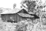 Brazil, house in clearing at Colonia Santa Rosa in state of Pará
