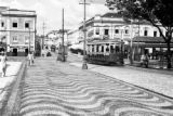 Brazil, street car on commercial street in Belém