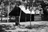 Brazil, hut for five workers at plantation in Pará