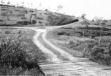 Brazil, view of dirt road up slope