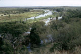 Zimbabwe, river flowing through bush country