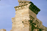 Tunisia, architectural detail at ruins of ancient city of Sufetula