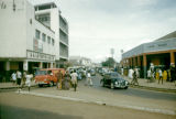 Ghana, street scene in Accra business district
