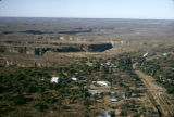 Zimbabwe, aerial view of Victoria Falls township