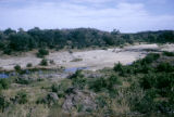 Africa, river flowing through countryside