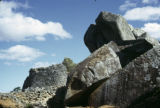 Zimbabwe, boulders at acropolis of Great Zimbabwe