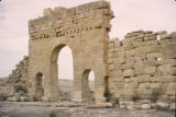 Tunisia, ruins at ancient city of Sufetula