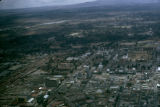 Kenya, aerial view of Nairobi