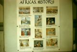 Ghana, poster showing the history of Africa