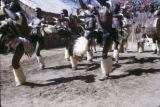 Zimbabwe, Ndebele ceremonial dancers performing