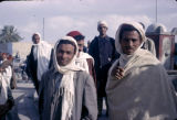 Tunisia, men wearing head scarves