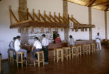 Kenya, bar at Ngulia Lodge at Tsavo West National Park