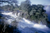 Zambia and Zimbabwe, Zambezi River straddling border