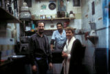 Cairo (Egypt), Caroline Seymour-Jorn in a coffee shop