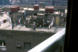 Cairo (Egypt), dwellings on rooftops of apartment buildings