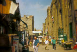 Cairo (Egypt), street view of Old Cairo