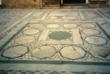 Cairo (Egypt), floor in Sultan Hassan mosque